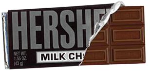 ObitKit, Susan Soper: Hershey's Chocolate Bar