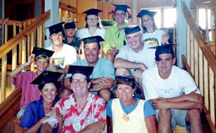 ObitKit, Susan Soper: all the family at graduation